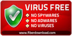 Fiberdownload 100% Clean Award For WinParrot