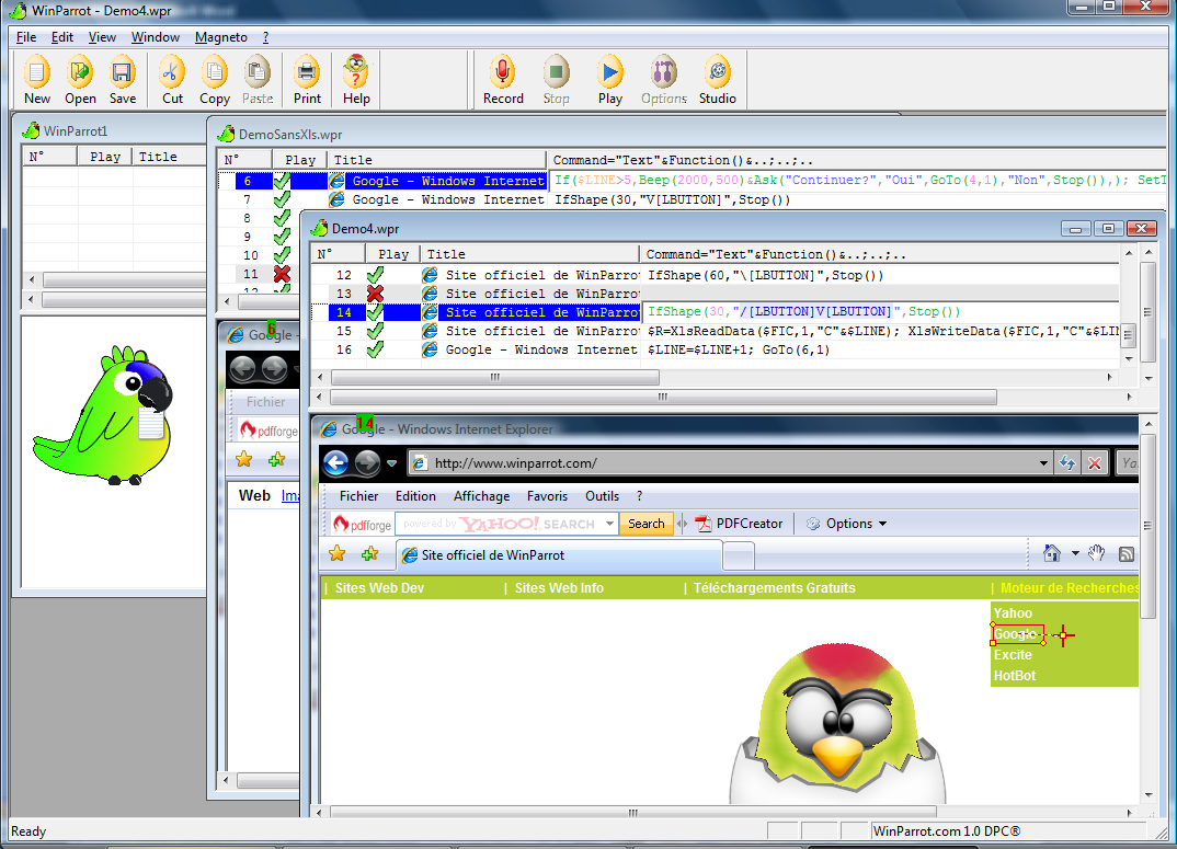 Windows 7 WinParrot 2.1.3.4 full